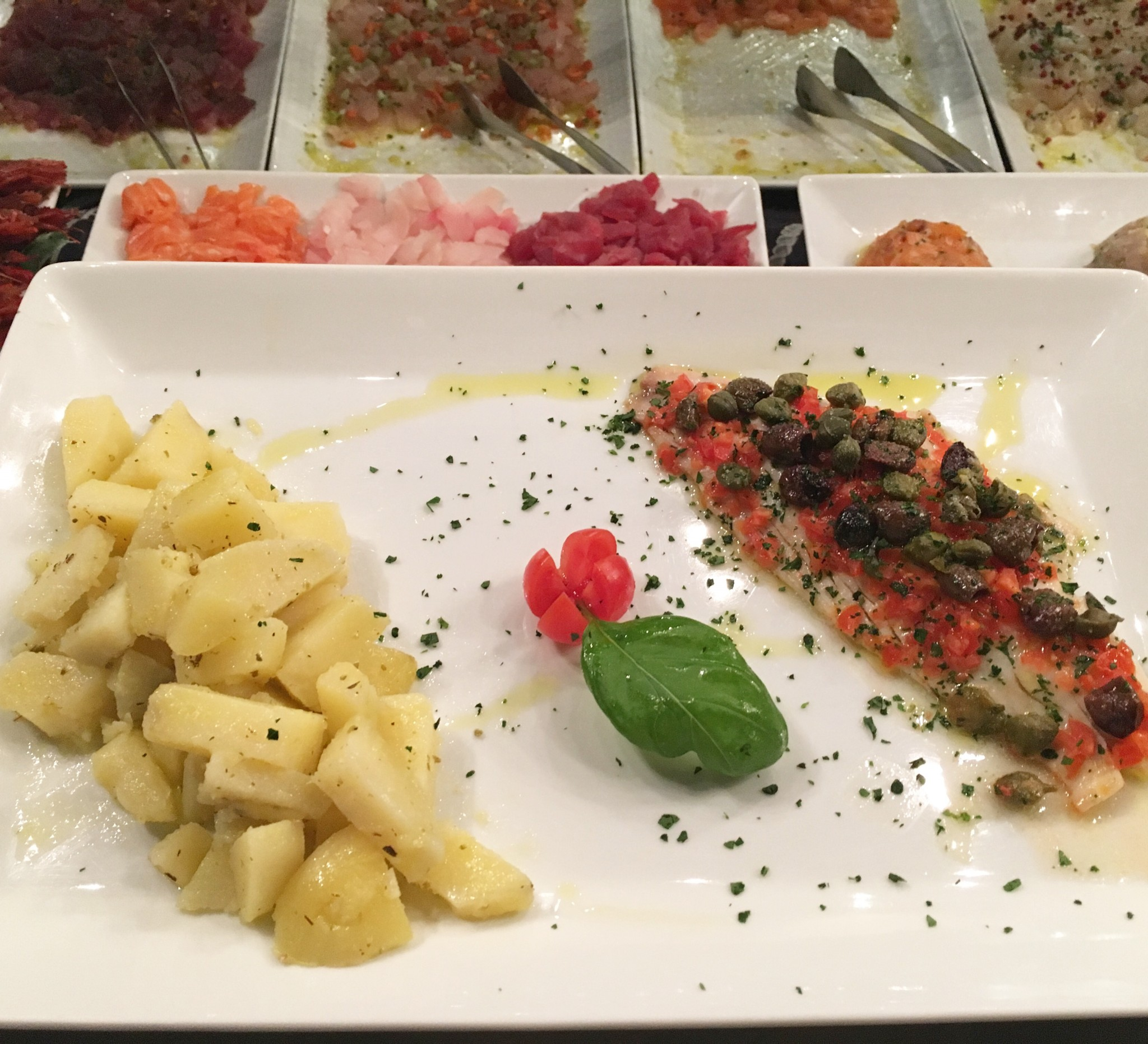Secondi piatti – Second Courses of Fish
